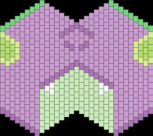 MLP Spike Mask Bead Pattern