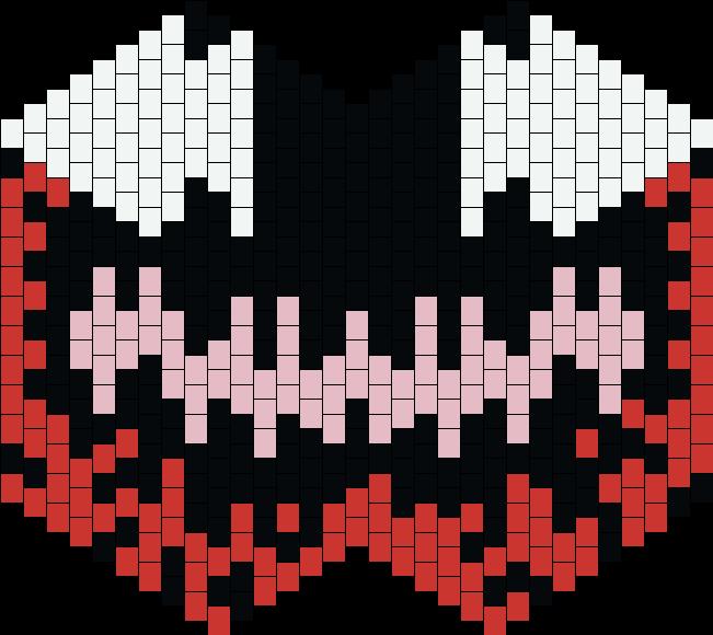 Carnage Mask Bead Pattern