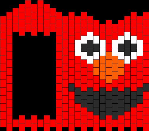 Elmo  Bead Pattern