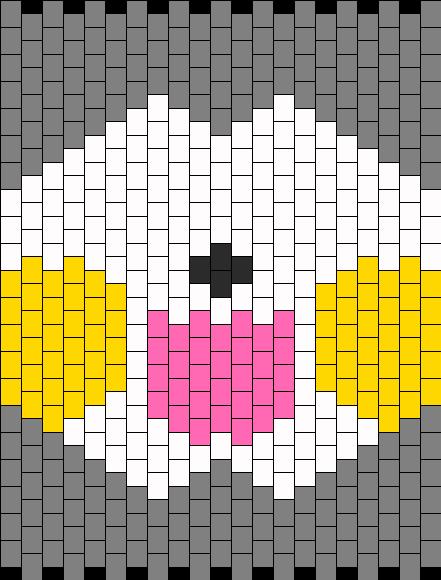 Pachirisu Mask Bead Pattern