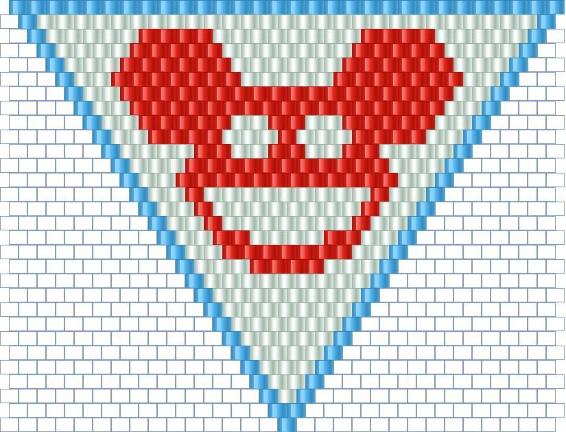 Deadmau5 Bandana Bead Pattern