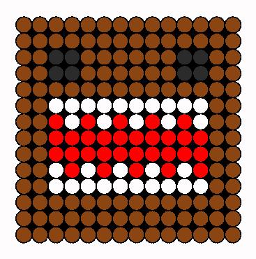 Domo Perler Bead Pattern / Bead Sprite