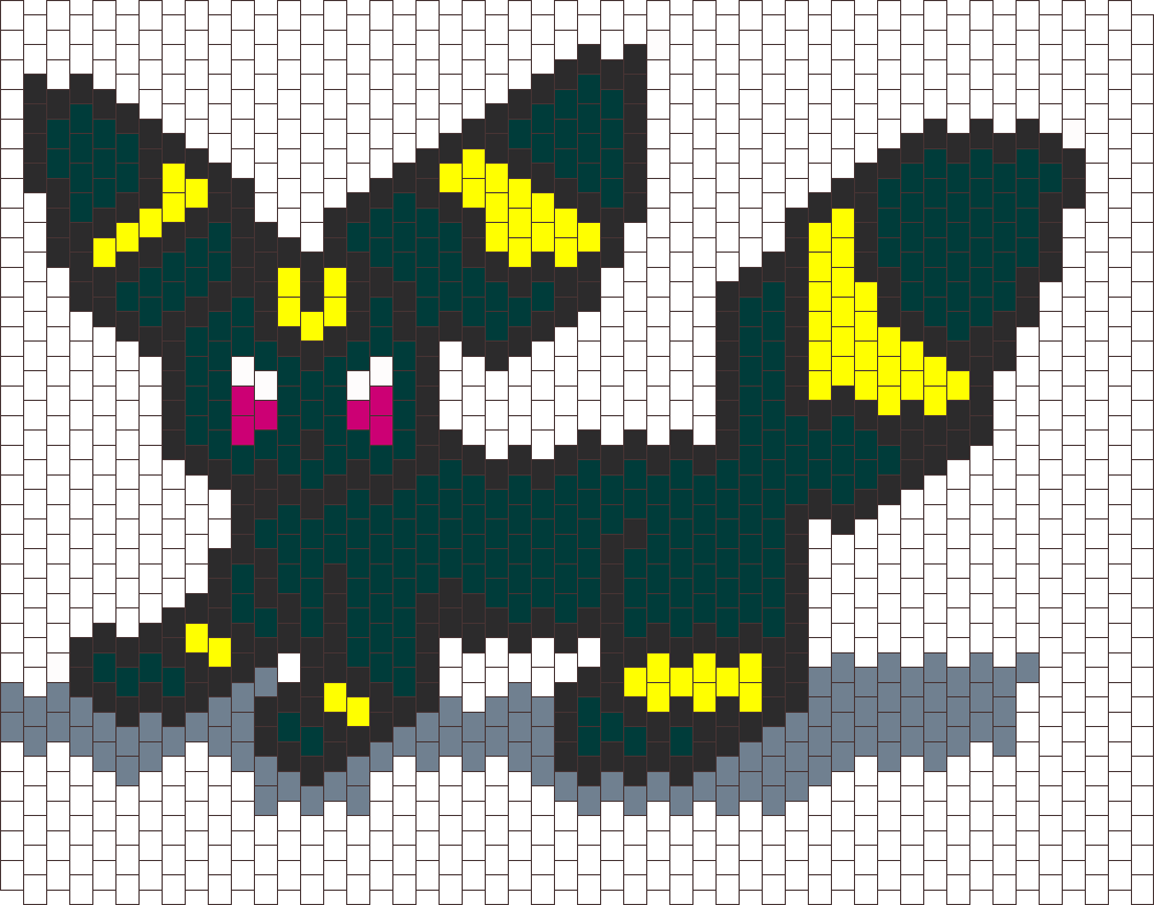 Umbreon Bead Pattern