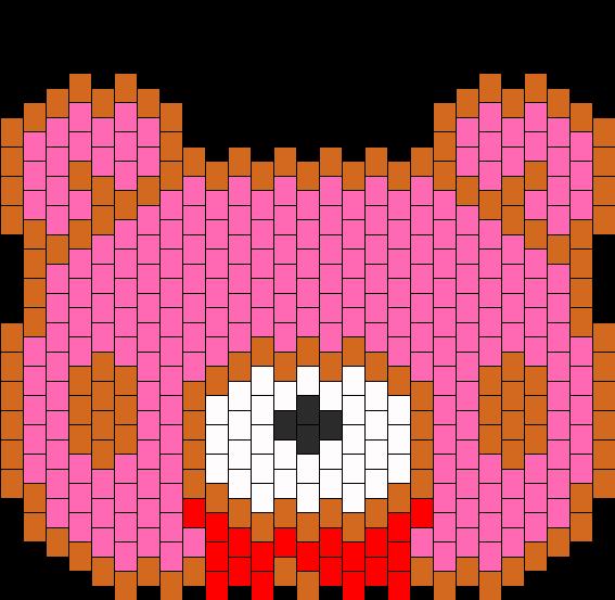 Gloomy Bear Bead Pattern