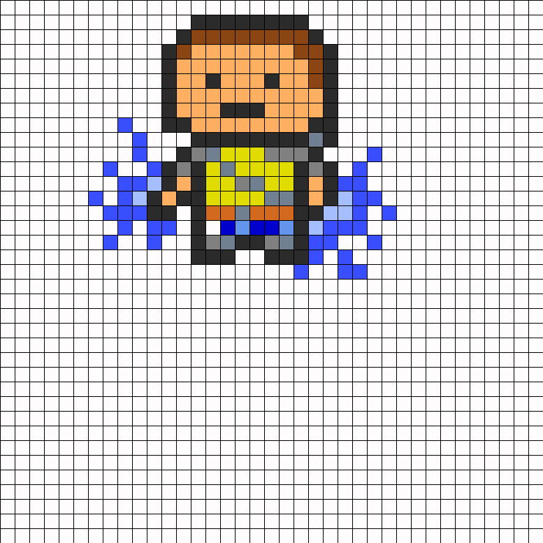 8-bit Cole from inFamous Good karma