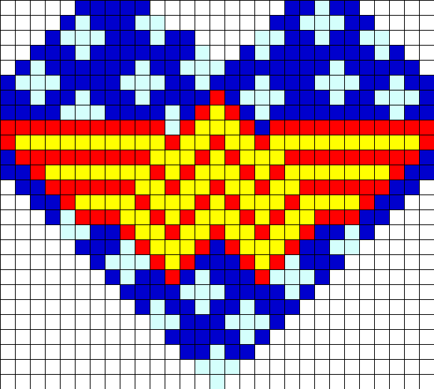Wonder Woman Star Heart