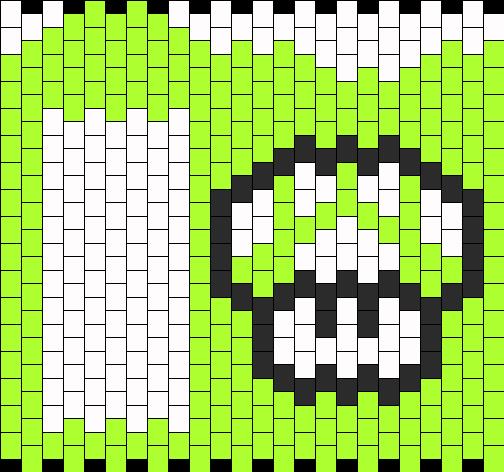 mushroom ipod case bead pattern