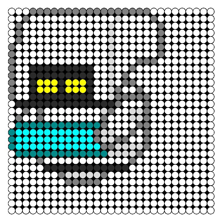 Mo  Perler Bead Pattern / Bead Sprite
