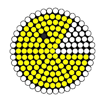 pacman fuse bead