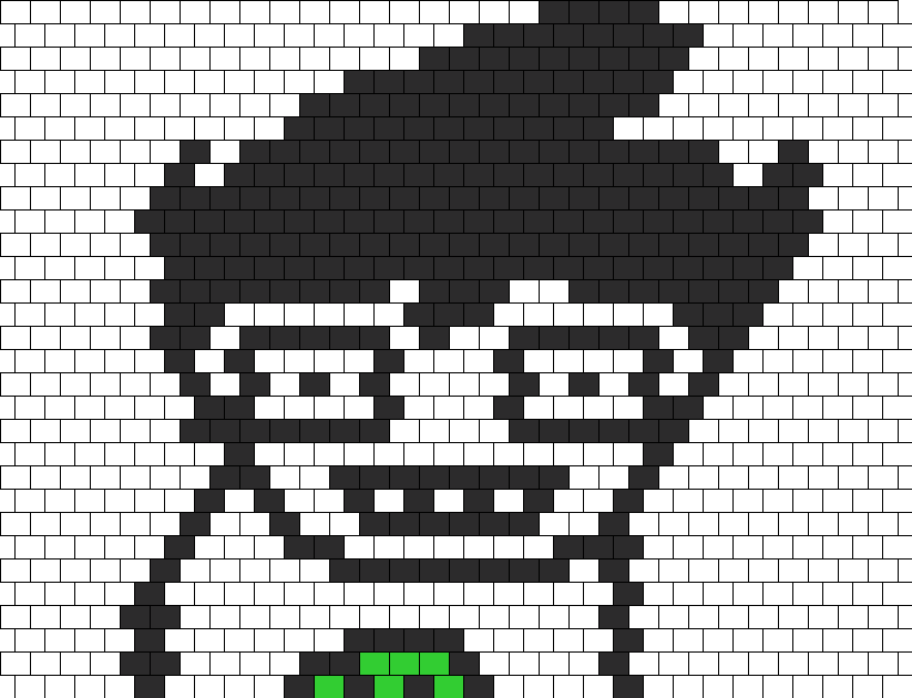 JOHN EGBERT PEYOTE HOMESTUCK Bead Pattern