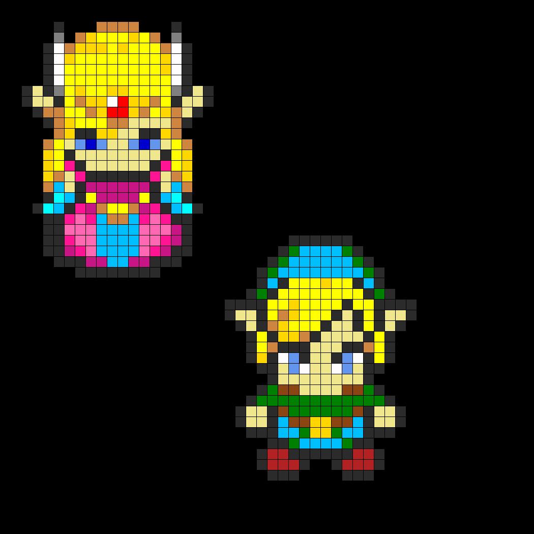 Zelda and Link Combo