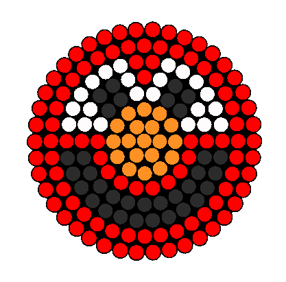 Elmo Perler Bead Pattern / Bead Sprite