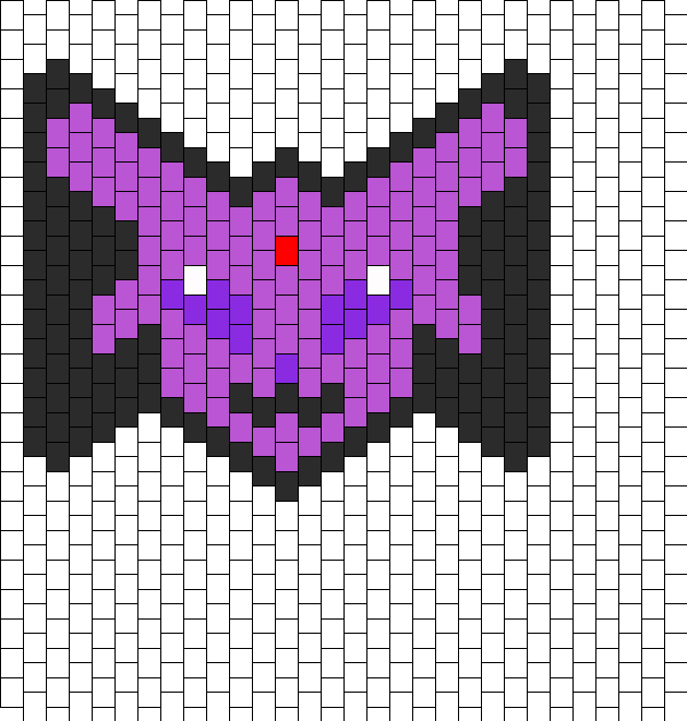 Espeon Bow Peyote Large