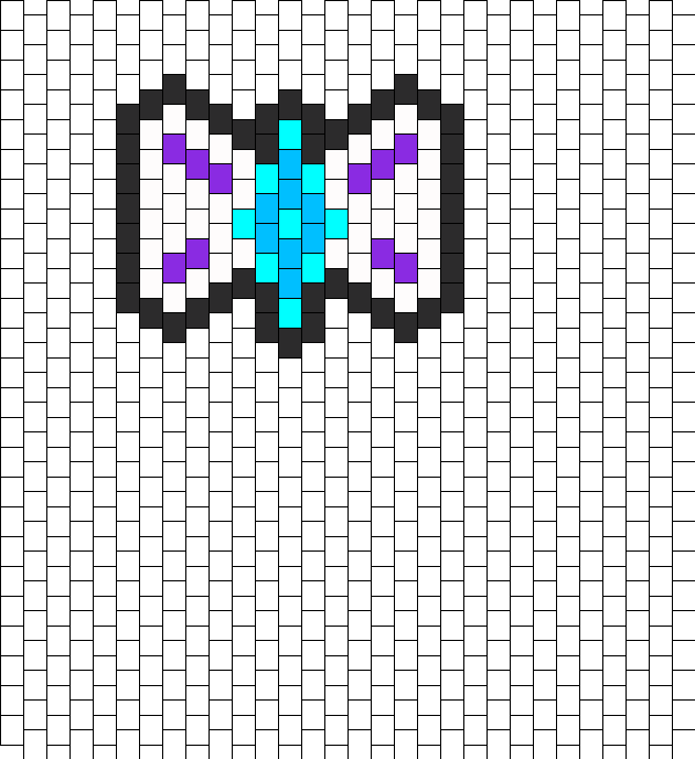 Rarity Bow Peyote Bead Pattern