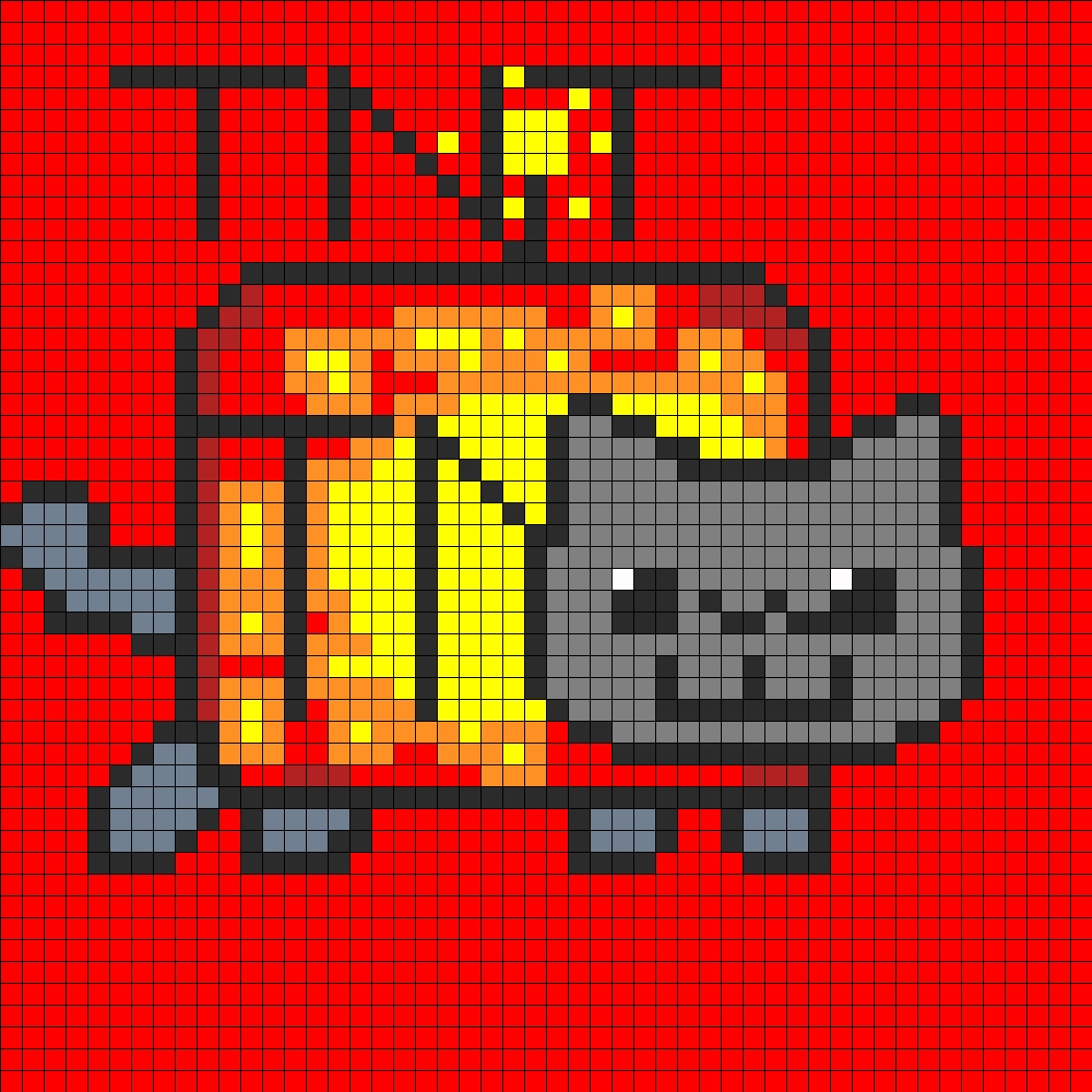 TNT nyan cat