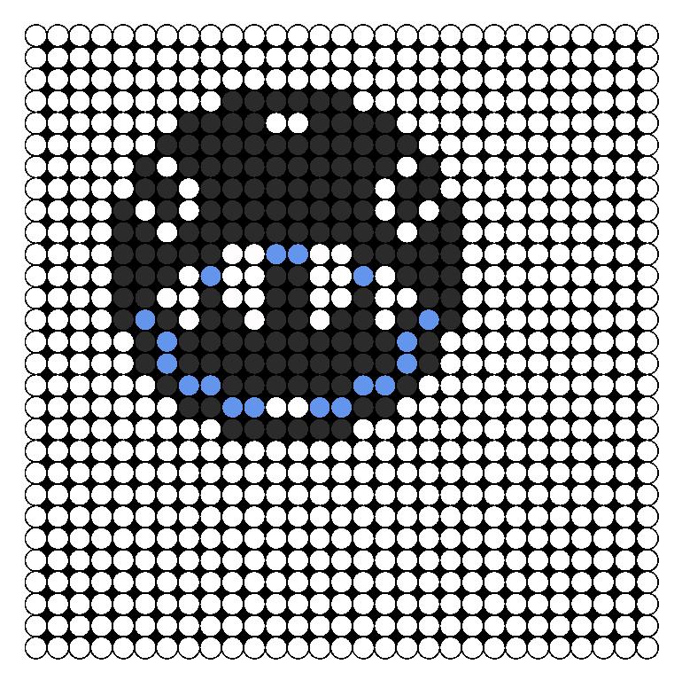 Bowbow Perler Bead Pattern / Bead Sprite