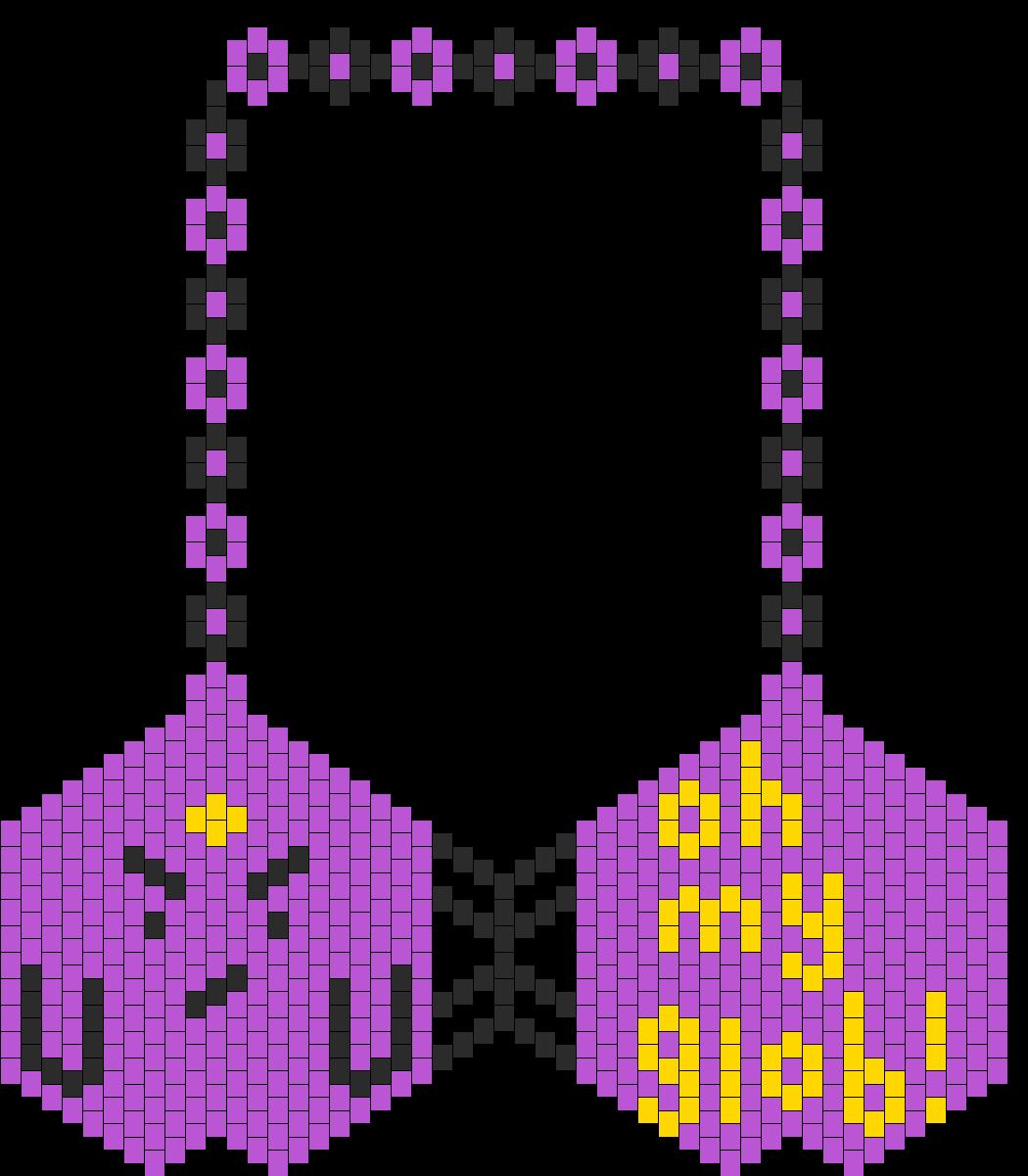 Lumpy Space Princess Kandi Bikini Bra