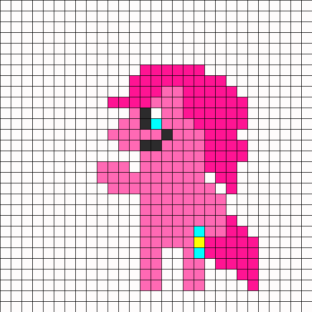 Standing Pinkie Pie