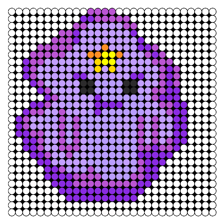 8823-Lumpy Space Princess Perler Bead Pattern / Bead Sprite