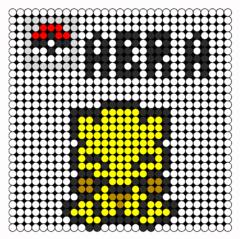 Easy Pokemon Perler Bead Patterns Name