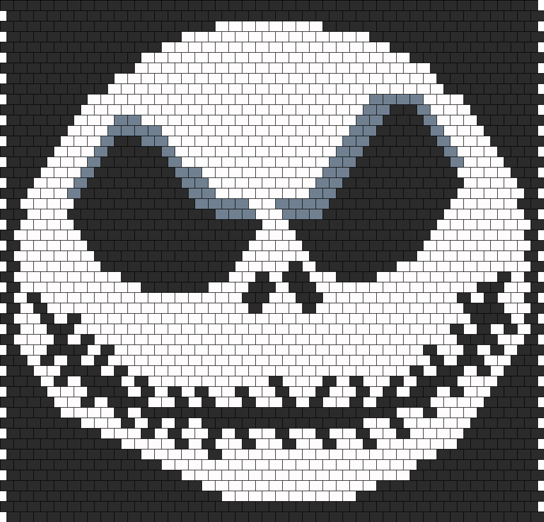 Jack Skellington The Nightmare Before Christmas Bead Pattern