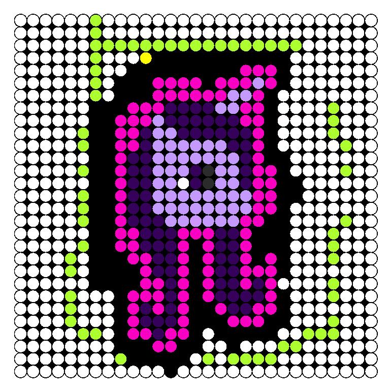 Gony P Mlp Perler Bead Pattern / Bead Sprite