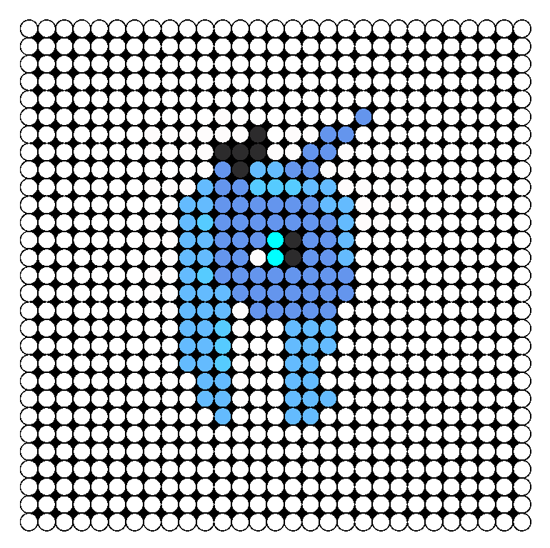 Luna Perler Bead Pattern / Bead Sprite