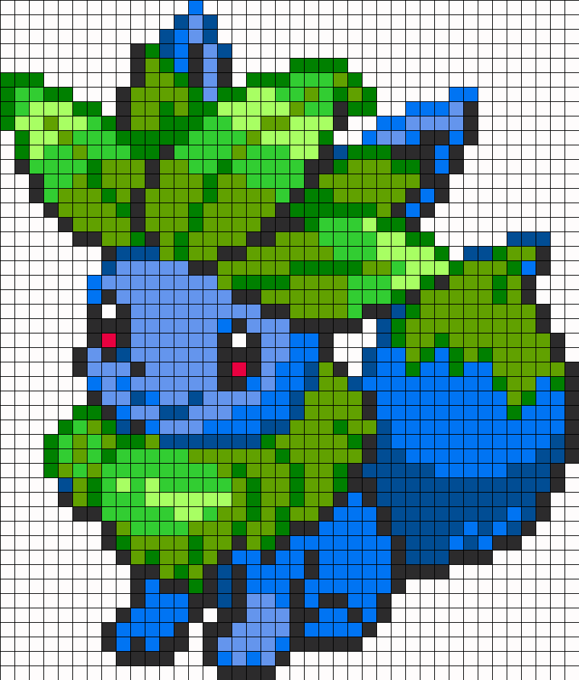 Eevee And Oddish Fusion