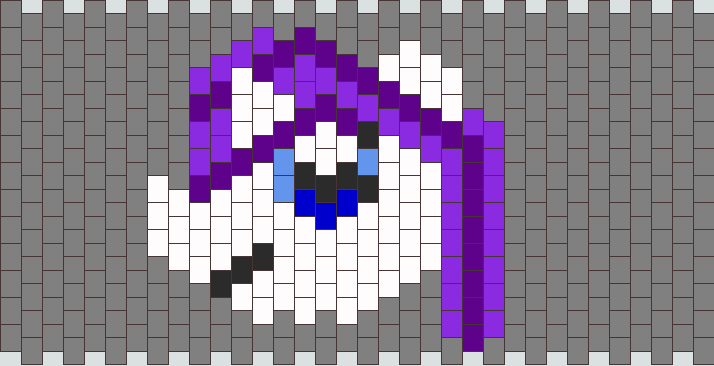 Rarity Peyote Stitch Head