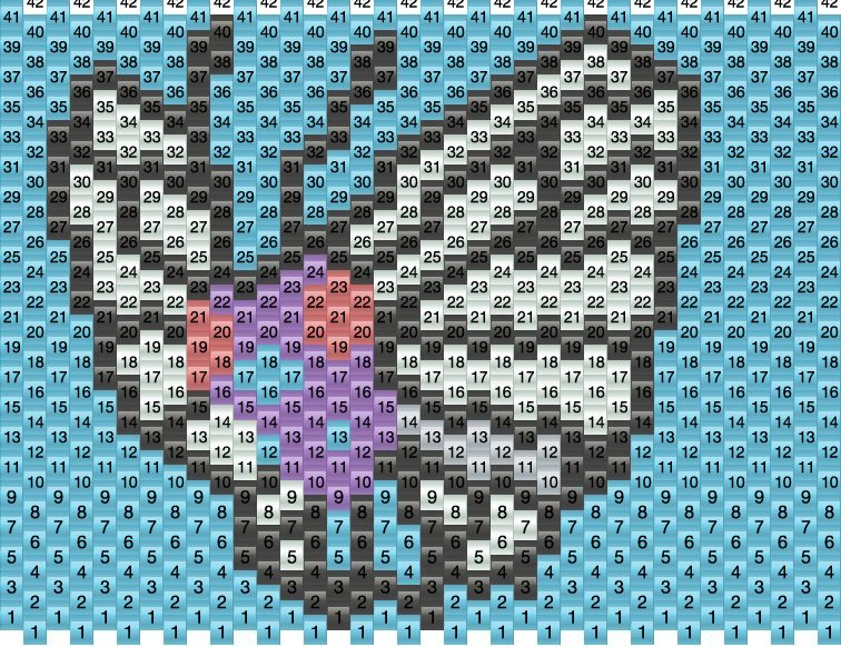 Bee Pony Bead Pattern Instructions | eHow.com