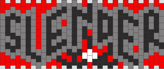 Slenderman Kandi Pattern