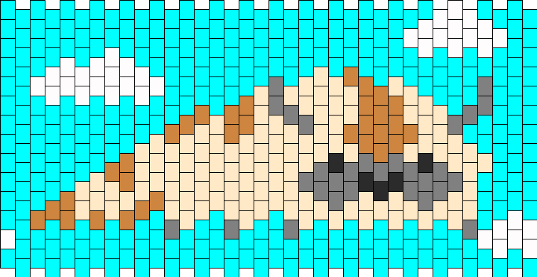 Appa Flying Cuff Kandi Pattern