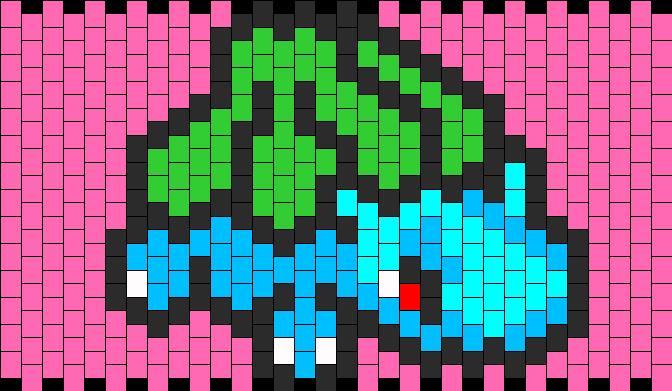 Pixel Pokemon Bulbasaur Images -  6.5KB