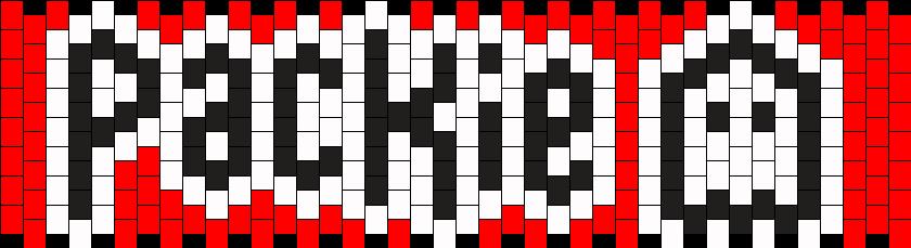 Packie Cuff Kandi Pattern