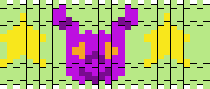 Neopets Purple Grundo Cuff