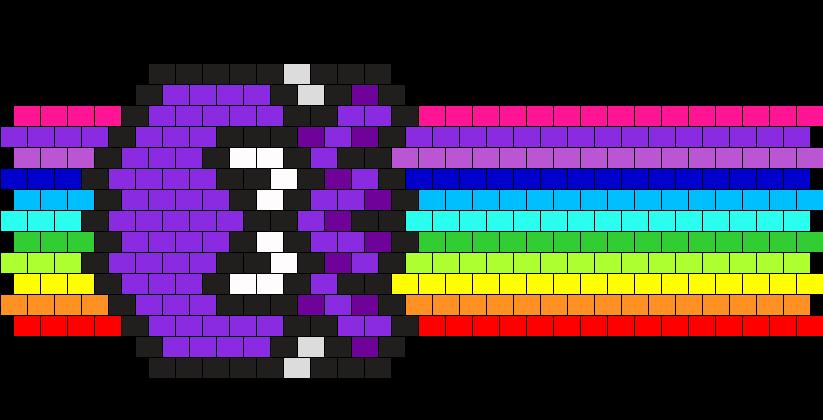 Rainbow Octo Cuff