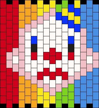 34 X 13 Sad Clown Cuff