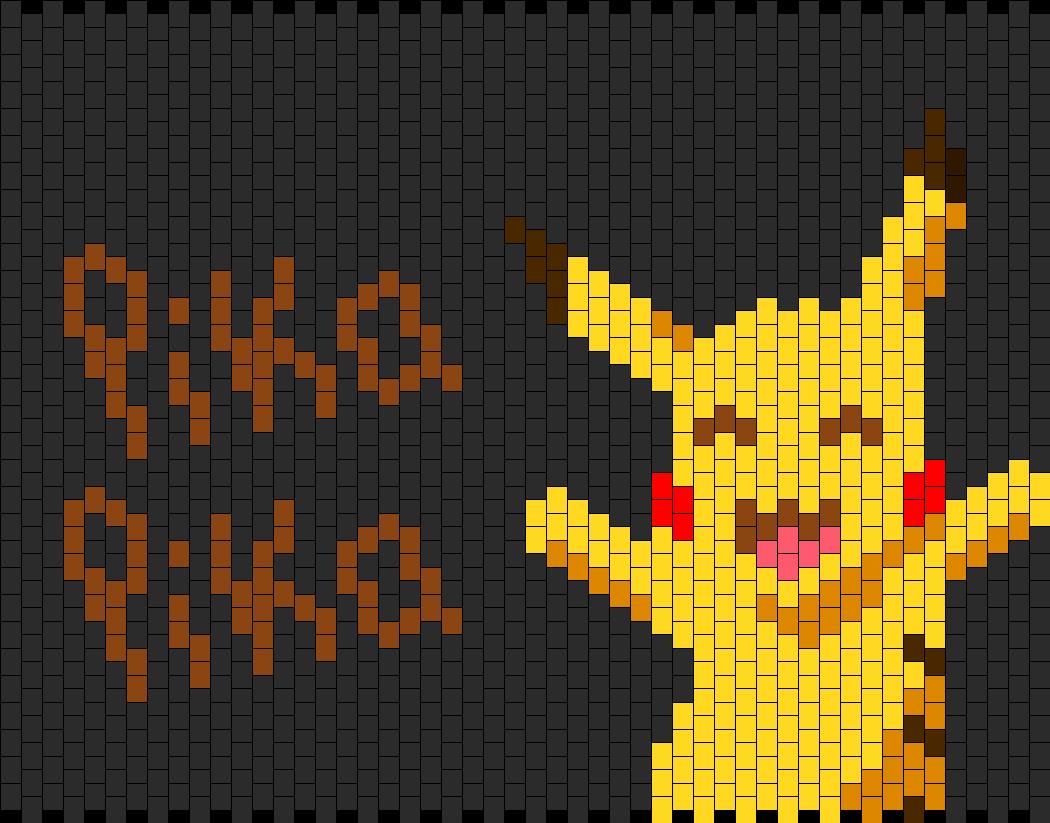 Pikachu Bag  Panel 1