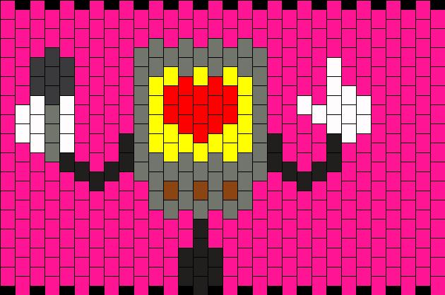 Box Mettaton Kandi Pattern