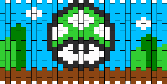 Mario Green Mushroom