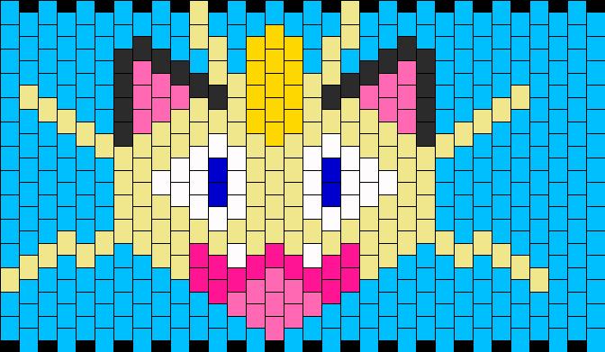 Meowth Kandi Pattern