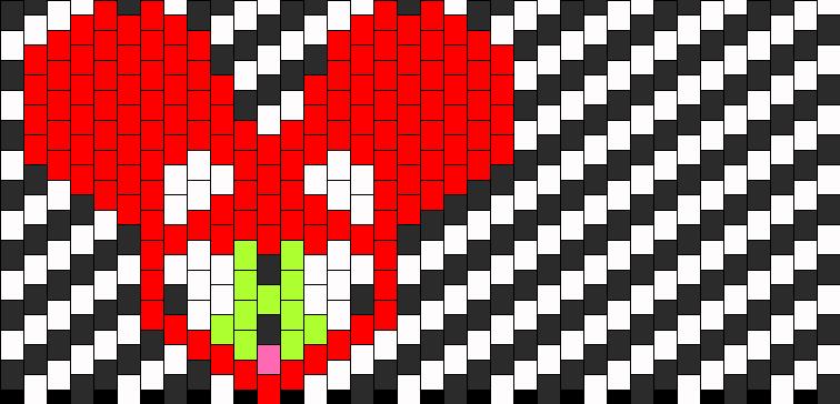 Gir Deadmau5 Head Kandi Pattern