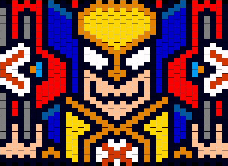 Wolverine Cuff Kandi Pattern