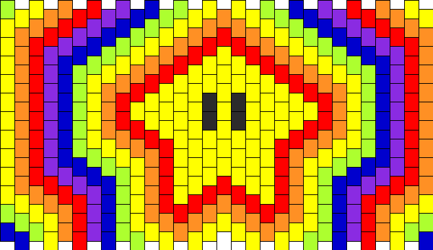 Star Power Kandi Pattern