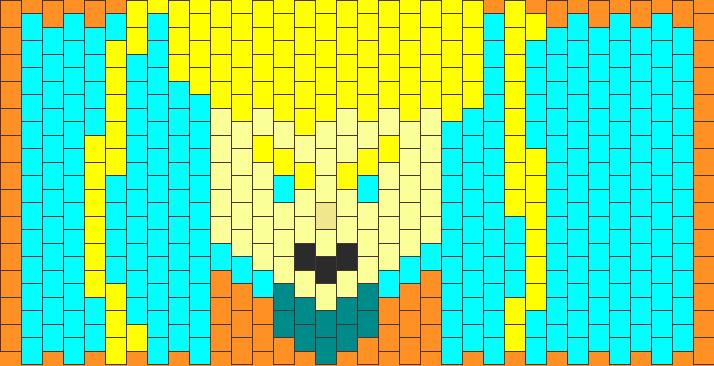 Goku Kandi Pattern