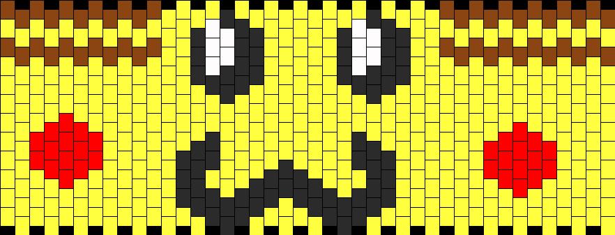 Mustache Pikachu Upper Arm Cuff