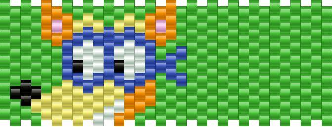 Swiper Kandi Pattern