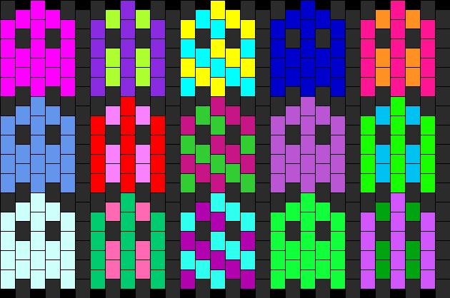 Pacman ghost cuff