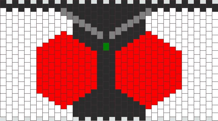 Kamen Rider Fourze Pattern Kandi Pattern