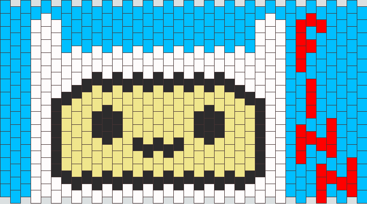 Finn The Human Kandi Pattern